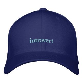 casquette introverti casquette brodée