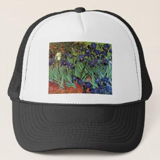 Casquette Iris de Van Gogh, beaux-arts vintages de jardin