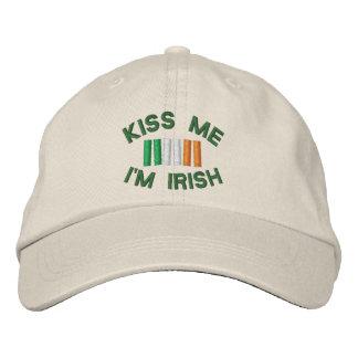 Casquette irlandais de camionneur de vert du jour casquette brodée