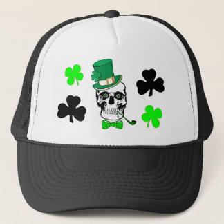 Casquette irlandais de crâne