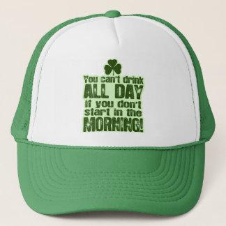 Casquette Irlandais du jour de St Patrick drôle