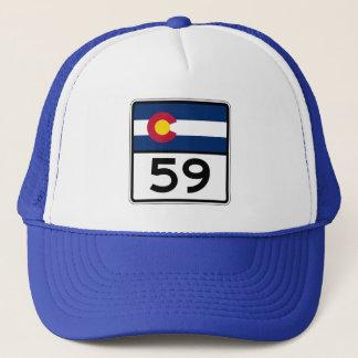 Casquette Itinéraire 59 d'état du Colorado