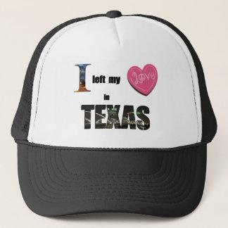 Casquette J'ai laissé mon coeur dans le Texas - aimez le