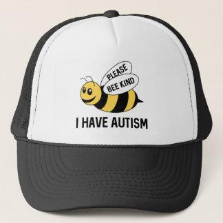 Casquette J'ai l'autisme