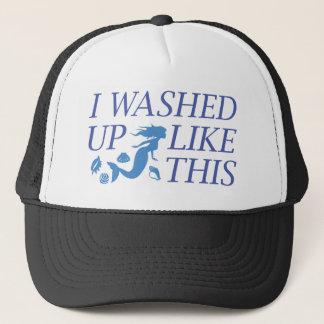 Casquette J'ai lavé comme ceci