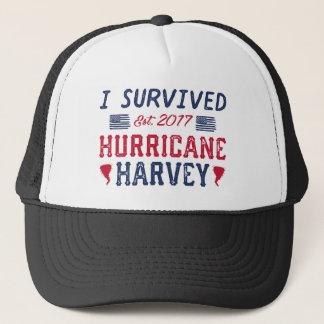 Casquette J'ai survécu à l'ouragan Harvey