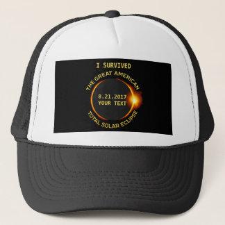 Casquette J'ai survécu à toute l'éclipse solaire 8.21.2017