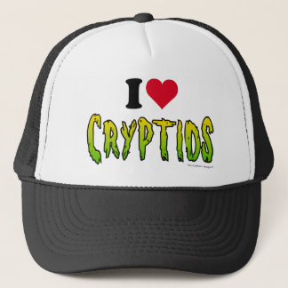 Casquette J'aime Cryptids