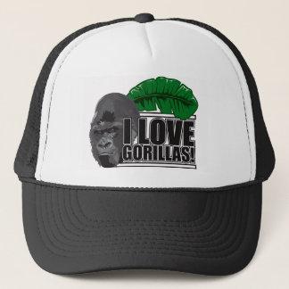 Casquette J'aime des gorilles