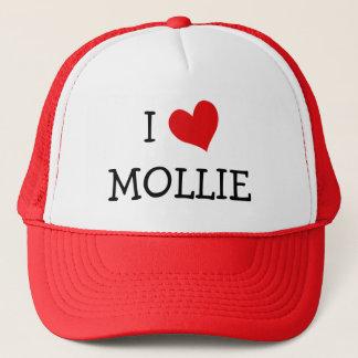 Casquette J'aime des Mollie