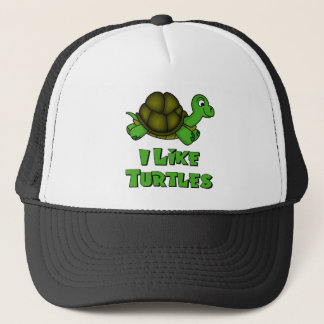 Casquette J'aime des tortues