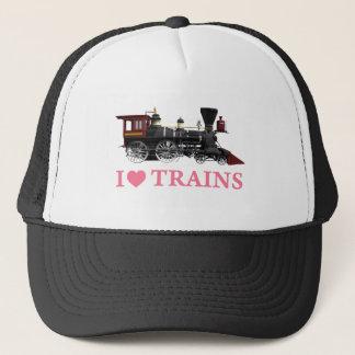 Casquette J'aime des trains