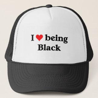 Casquette J'aime être noir