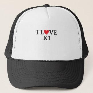 Casquette J'aime K1