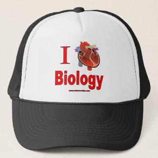 Casquette J'aime la biologie