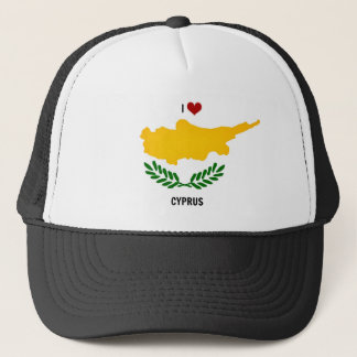 Casquette J'aime la Chypre