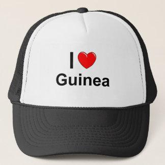 Casquette J'aime la Guinée de coeur