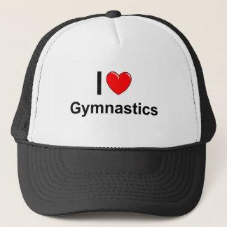 Casquette J'aime la gymnastique de coeur