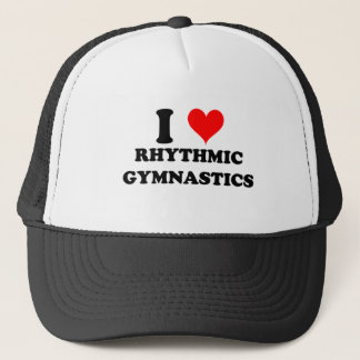 Casquette J'aime la gymnastique rythmique