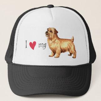Casquette J'aime la ma Norfolk Terrier