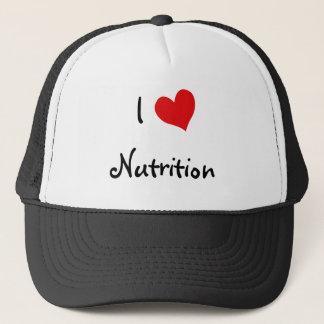 Casquette J'aime la nutrition