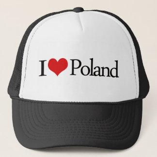 Casquette J'aime la Pologne