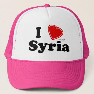 Casquette J'aime la Syrie