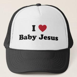 Casquette J'aime le bébé Jésus
