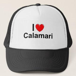 Casquette J'aime le Calamari de coeur