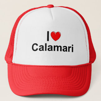 Casquette J'aime le Calamari (de coeur)