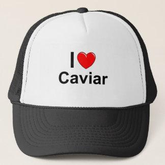 Casquette J'aime le caviar de coeur