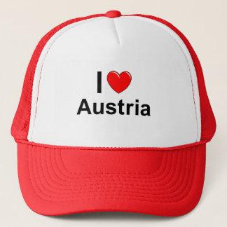Casquette J'aime le coeur Autriche