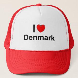 Casquette J'aime le coeur Danemark