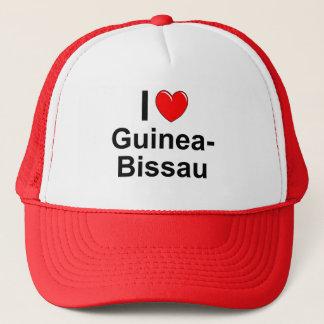Casquette J'aime le coeur Guinée-Bissau