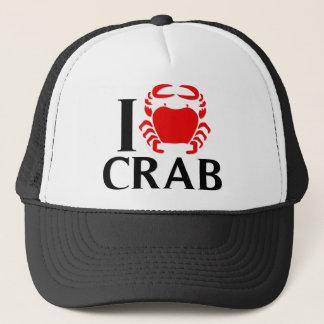 Casquette J'aime le crabe