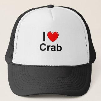Casquette J'aime le crabe de coeur