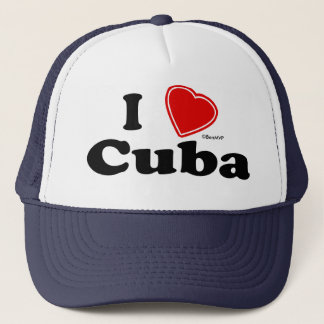 Casquette J'aime le Cuba