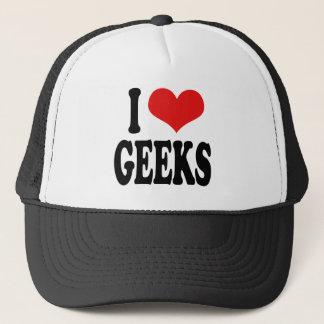 Casquette J'aime le geeks