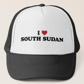 Casquette J'aime le Soudan du sud