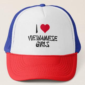 Casquette J'aime les filles vietnamiennes
