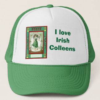 Casquette J'aime l'irlandais Colleens
