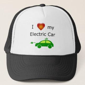 Casquette J'aime ma voiture électrique