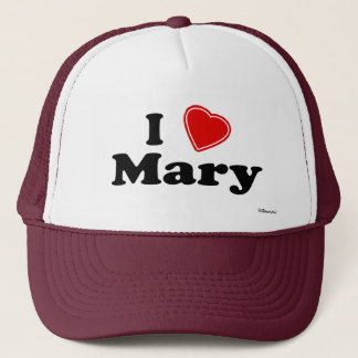 Casquette J'aime Mary