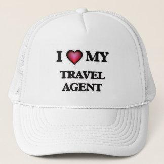 Casquette J'aime mon agent de voyage