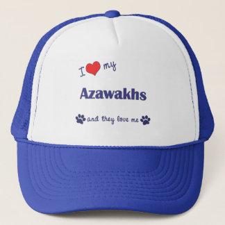 Casquette J'aime mon Azawakhs (les chiens multiples)