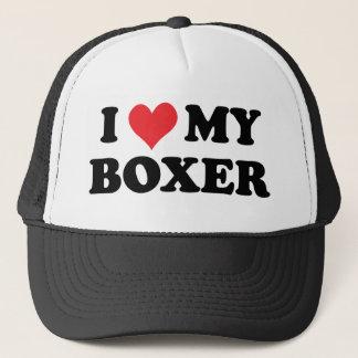 Casquette J'aime mon boxeur