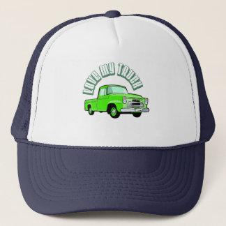 Casquette J'aime mon camion - vieux, collecte verte