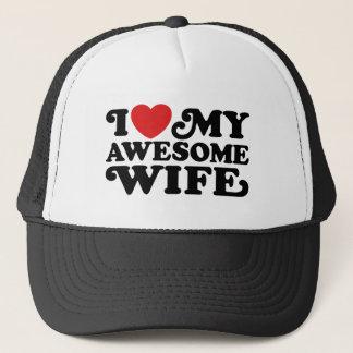 Casquette J'aime mon épouse impressionnante