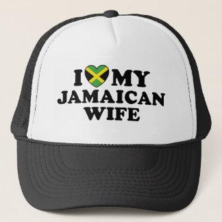 Casquette J'aime mon épouse jamaïcaine