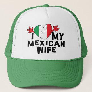 Casquette J'aime mon épouse mexicaine